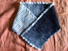 Crochet Cowl Scarf Gray and White Scarf Cowl Usa by zahraknitting, $27.90