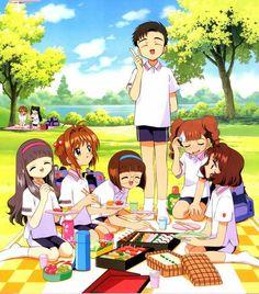 CLAMP - Sakura Card Captor 【Syaoran & Meiling / Tomoyo, Sakura, Naoko, Yamazaki, Chiharu & Rika】