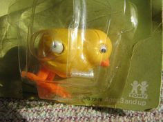 Retro wind up #chick toy (70s)