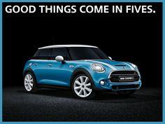 Mini Cooper // Introducing the new 4-door + trunk