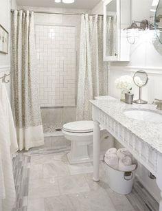 DIY Vanity By Sarah Richardson / Idea : Use The Same Principle But With  Shorter Legs