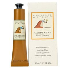 Crabtree & Evelyn Gardeners Hand Therapy (50ml) (€11) ❤ liked on Polyvore featuring beauty products, bath & body products, body moisturizers, fillers, beauty, makeup, cosmetics and body moisturizer