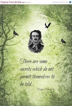 Edgar Allen Poe Poem Quote Gothic by nevermorealteredart