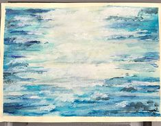 Lost at Sea Beach Themed Art, Beach Themes, Watercolor Paper, Art Direction, New Work, Landscape Design, Arts And Crafts, Behance, Paintings