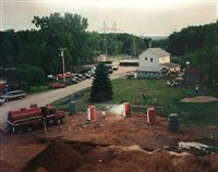 Untitled (Yankee Septic Emergency) by Gregory Crewdson