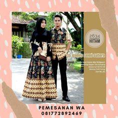 Model Baju Gamis Batik Couple Sarimbit Semisutra Lengan terompet kombinasi Tali Untuk Baju Lebaran Terbaru Batik Couple, Sequin Skirt, Sequins, Couples, Skirts, Fashion, Moda, Fashion Styles, Skirt