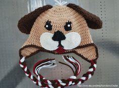 Baby Animal Hat Puppy Crochet hat Pattern by SunnyBunnyCrochet, $5.40