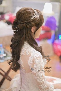 ariesy,愛瑞思,新娘秘書,新秘,編髮,鮮花造型,和璞,新秘推薦