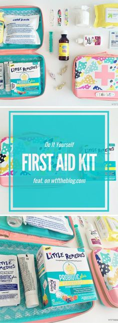 First Aid Kit with This DIY first aid kit, featuring and has everything you need, to be prepared for any situation with kids!This DIY first aid kit, featuring and has everything you need, to be prepared for any situation with kids! Baby First Aid Kit, First Aid For Kids, First Aid Tips, Kits For Kids, First Aid Kit Checklist, Camping First Aid Kit, Toddler Diaper Bag, Toddler Playhouse, Indoor Playhouse