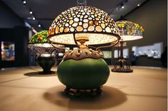 Lamps by Louis Comfort Tiffany