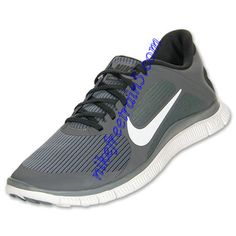 badb2582ba0878 Nike Free 4.0 V3 Mens Cool Grey White Anthracite 579958 010 Free Running  Shoes