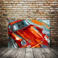 Excited to share this item from my shop: Porsche Carrera 911 Red painting Abstract. Canvas or giclee Prints Porsche Carrera, Porsche 911, Modern Art Prints, Wall Art Prints, Canvas Prints, Car Prints, Car Painting, Painting Abstract, Abstract Canvas