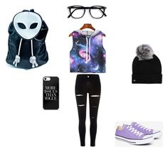 """""""hipster"""" by laurenmar18 ❤ liked on Polyvore featuring River Island, Converse, UGG and Current Mood"""