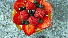 Søte terter med bær