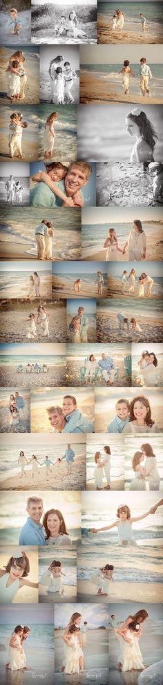 Lifestyle Family Beach Portraits. Longboat Key Family Photographer | http://fancifulphotography.com