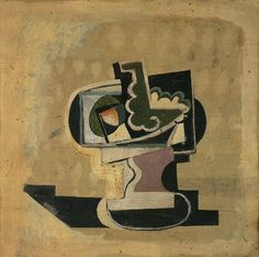 Pablo Picasso, 1919 Compotier on ArtStack #pablo-picasso #art