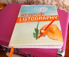 Listography books.