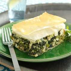 Hearty and Healthy Casseroles: Spinach & Chicken Pie (via Parents.com)