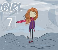 """New Chapter of the story """"Girl"""" By Reem Noobo. Chapter Seven """"First Day Of Work"""" Read the chapter here"""