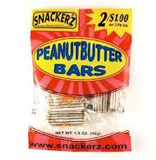 Peanutbutter Bars 2/$1 (12 Count)