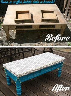 Peachy 20 Best Diy Outdoor Bench Coffee Table Ideas Images Evergreenethics Interior Chair Design Evergreenethicsorg