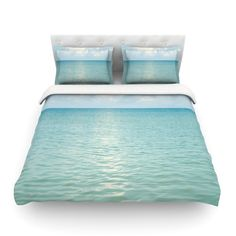 Found it at Wayfair - Cloud Reflection by Catherine McDonald Featherweight Duvet Cover
