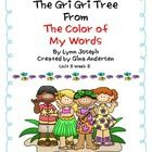 """This packet is a Fifth Grade Treasures Resources for """"The Gri Gri Tree"""".  These resources compliment 5th grade Treasures (Unit 5 Week 5) """"The Gri G..."""