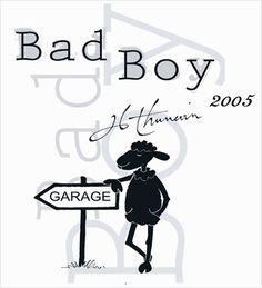 Jean-Luc Thunevin - Bad Boy Bordeaux 2005 Merlot, Approximately $20.00, is a different kind of Merlot, it is aromatically earthy with grape and spicy cedar notes, and has the dark color of garnet, flecks and all.