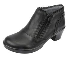 Alegria Hannah Black Nappa Boot - now on Closeout! | Alegria Shoe Shop #AlegriaShoes #AlegriaBoots #boots #closeouts #sale