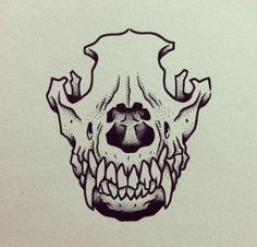 Super Tattoo Dog Skull Art 51 Ideas The Effective Pictures We Offer You About tattoo mother Animal Skull Drawing, Animal Skull Tattoos, Animal Skulls, Scull Drawing, Sketch Tattoo Design, Tattoo Sketches, Art Sketches, Dog Skull, Skull Art