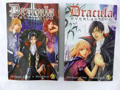 Dracula Everlasting 1 & 2 Graphic Novel Anime English EUC Manga