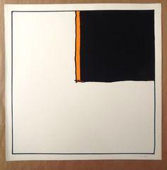 """Pratt, Hugo - Silkscreen """"Il Tempo di una Sigaretta"""" (1977) - W.B."""