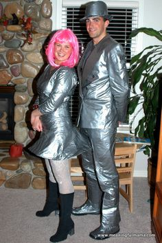 Mr. and Mrs. Duct Tape