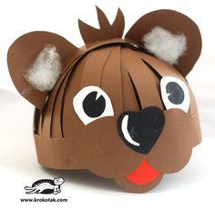 Trop mignon ce chapeau masque ours