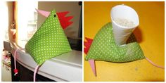 Easter Chicks - Home Page Diy Gifts For Kids, Diy Crafts For Gifts, Diy For Kids, Holiday Break, Free Sewing, Easter Crafts, Decoration, Sewing Crafts, Easter Chickens
