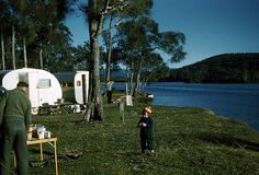Camping at Lake Conjola 1950s
