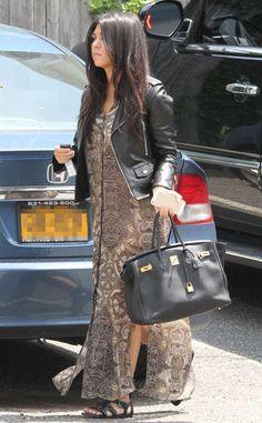 Kourtney Kardashian Bumpin