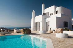 A villa for rent in Mykonos, Greece