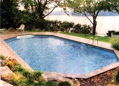Grecian style pool