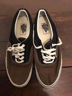 a27e625ef22 Vans Era Deck Shoes Skateboarding Shoes Vintage Uk8 2-tone