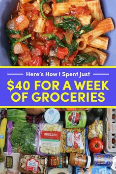 Easy meal prep ideas for weight loss! Check this collection of the best easy and budget-friendly meal prep recipes for beginners. Cooking For A Crowd, Cooking On A Budget, Gourmet Recipes, Cooking Recipes, Healthy Recipes, Healthy Meals, Tasty Meals, Budget Recipes, Cooking Ideas
