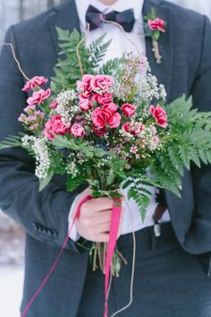 Romantic Rustic Wedding Bouquet