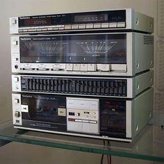 Technics ST-5 Technics SU-5 Technics SE-H5 Technics RS-8R . (1983-1984)  Vintage Audio Love