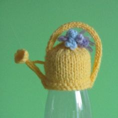 Innocent Smoothies Big Knit Hat Patterns Watering Can – Knitting patterns, knitting designs, knitting for beginners. Knitting Designs, Knitting Patterns Free, Knit Patterns, Free Knitting, Knitting Projects, Baby Knitting, Crochet Projects, Knitted Teddy Bear, Knitted Hats