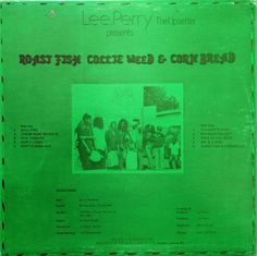 Lee Perry - Roast Fish Collie Weed & Corn Bread (back cover)