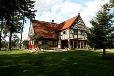 A romantic 18th century lodge near Gdansk, Poland, has been teleported to the 21st century. Three guest suites await.
