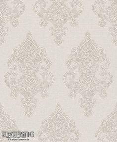 23 225708 Amira Rasch Textil Hell Beige Ornament Vlies Tapete. Wohnzimmer  Tapeten IdeenElegantes ...