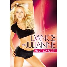 Dance with Julianne - Just Dance! - Julianne will lead you through three upbeat routines - no partner needed. 'In these dances, you're working your whole body and you don't even know it,' Julianne says. 'It really does work! Best Workout Dvds, Best Cardio, Bob Harper, Weight Loss Video, Julianne Hough, Yoga Videos, Dance Videos, Dancing With The Stars, Just Dance