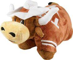 Texas Longhorns 'Bevo' Pillow Pet