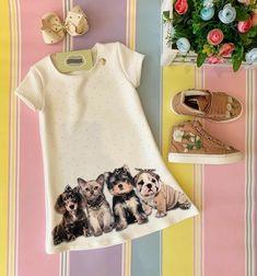 Bookmarks Kids, Short Sleeve Dresses, Dresses With Sleeves, Girls Dresses, Summer Dresses, Shirt Dress, T Shirt, Christmas Stockings, Fashionable Little Girls